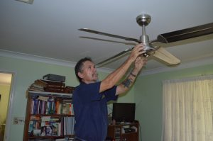 Ceiling fan repair and replacement rockhampton